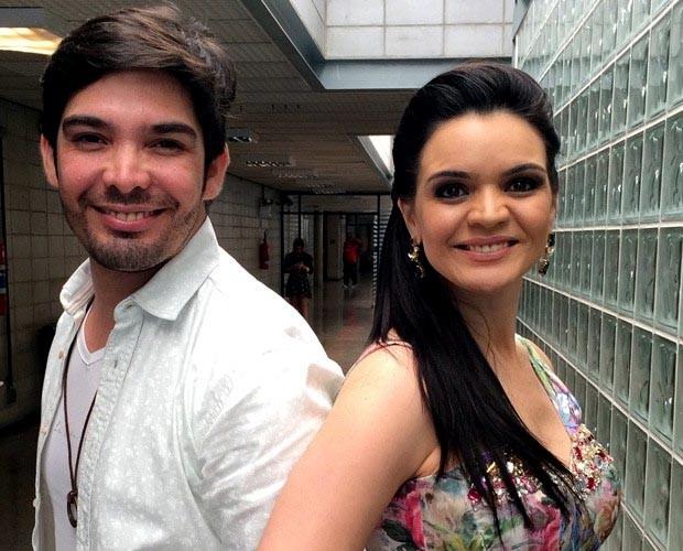 Kiko e Jeanne (Foto: The Voice Brasil/TV Globo)