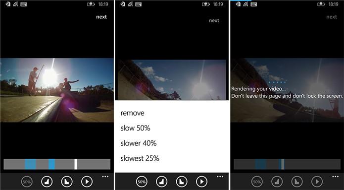 Slowly é um editor vídeo para Windows Phone capaz de deixar as gravações em câmera lenta (Foto: Divulgação/Windows Phone Store)