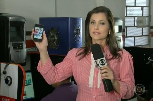 Bianca Celoto no Jornal Hoje (Foto: Reprodução / TV TEM)