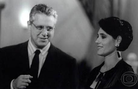 O ator interpretou o advogado criminalista Otávio Brandão em 'A viagem'. Seu par romântico foi Christiane Torloni Divulgação/TV Globo