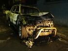 Motorista e carro são queimados por assaltantes em São Paulo, diz polícia