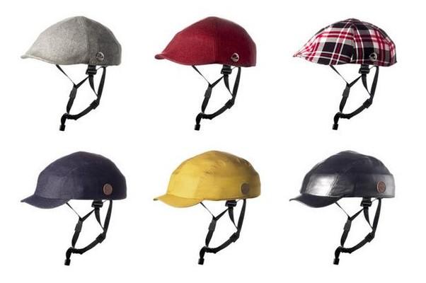 Outros modelos de capacete propostos pela empresa (Foto: Reprodução Internet/Kickstarter)