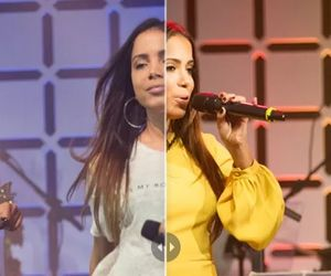 Looks do dia: veja o antes e depois de Anitta, Thiaguinho, Samuel Rosa e Lenine no Música Boa Ao Vivo