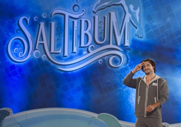Mariano é um dos participantes da atual temporada do quadro Saltimbum (Foto: Globo/Mauricio Fidalgo)