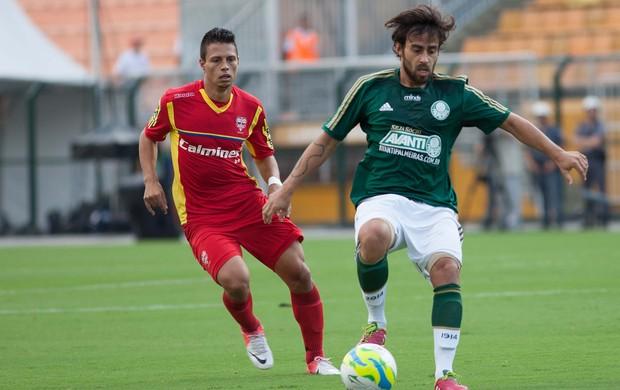 Valdivia e Rafinha, Palmeiras x Audax-SP (Foto: Rodrigo Gazzanel/Agência Estado)