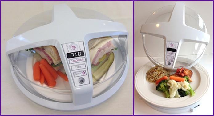 Micro-ondas mostrará a quantidade de calorias de um prato apenas apertando um botão (Foto: Divulgação/GE)
