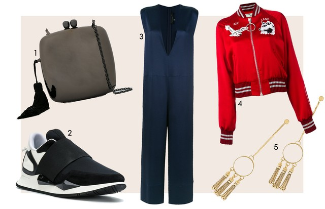1. Serpui (R$ 808) 2. Givenchy (R$ 3.800) 3. Gloria Coelho (R$ 2.287) 4. Off-white (R$ 4.415) 5. Chloé (R$ 2.830) (Foto: Reprodução)