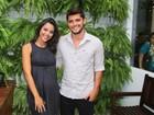 Yanna Lavigne e Bruno Gissoni vão juntos a evento e negam reconciliação