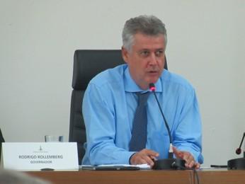 O governador do Distrito Federal, Rodrigo Rollemberg (Foto: Raquel Morais/G1)