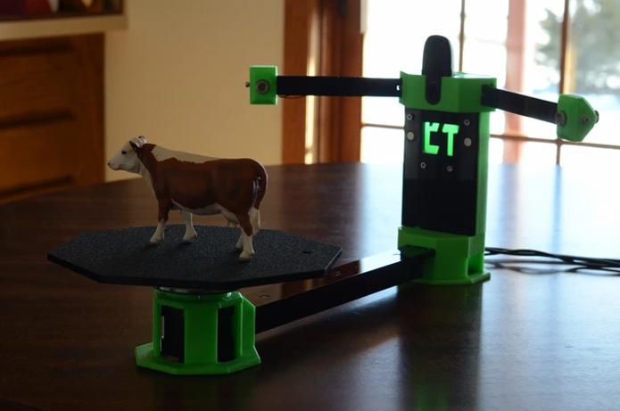 Scanner 3D promete ser alternativa mais acessível em termos de preços aos concorrentes profissionais (Foto: Divulgação/Cowtech)