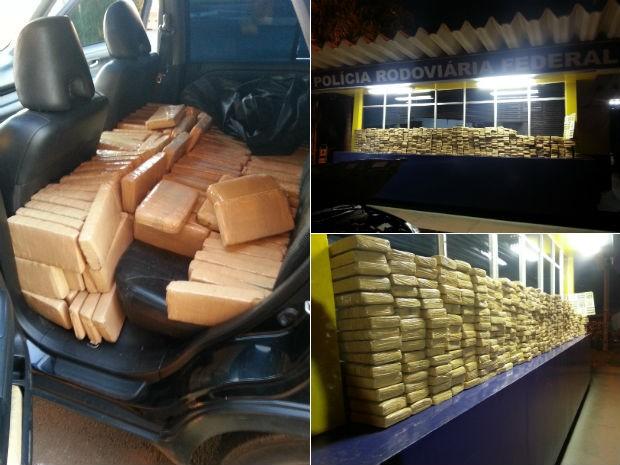 Segundo o adolescente, a droga seria entregue em São Paulo (Foto: Divulgação/PRF)