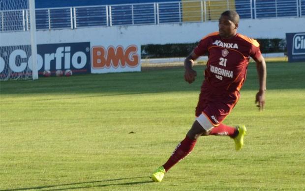 Jonatas Obina é convocado para seleção de Guiné Equatorial. (Foto: Tiago Campos / Globoesporte.com)