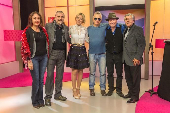 Mistura com Rodaika Alexandre Fetter Hique Gomez O Amor É Simples Noivo Terapia  (Foto: Maicon Hinrichsen/RBS TV)