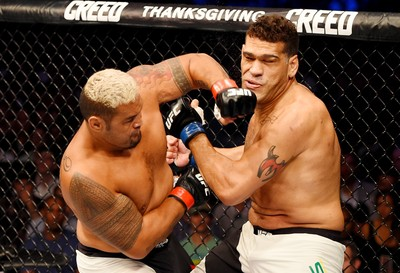 Mark Hunt Antônio Pezão UFC 193 MMA (Foto: Getty Images)