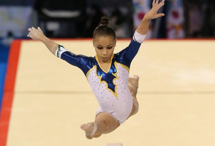 Flavia Lopes Saraiva ginástica Pan-Americana (Foto:  Matt Detrich/Reuters)