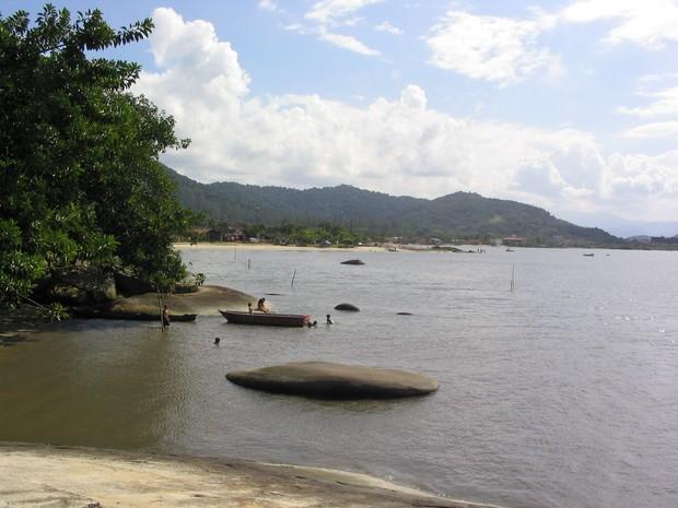 Ponta da Pita, em Antonina (Foto: Pedro Mathias / Arquivo Pessoal)