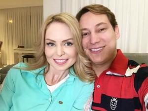 Bianca Toledo e Felipe Heiderich (Foto: Reprodução/Instagram)