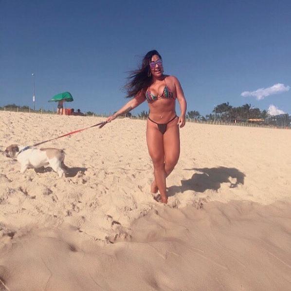 Andressa Soares, a Mulher Melancia (Foto: Reprodução/Instagram)