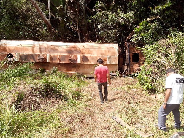 Acidente Transamazônica (Foto: Reprodução/TV Liberal)