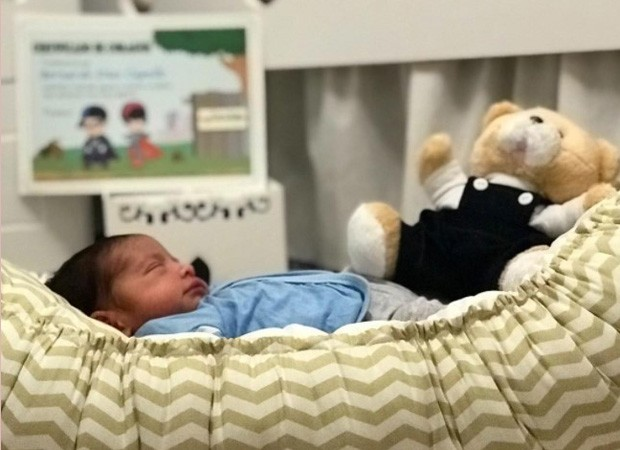 Bernardo, filho de Aline Dias e Rafael Cupello (Foto: Reprodução/Instagram)