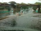 Forte chuva causa alagamentos em diversos pontos de Fortaleza