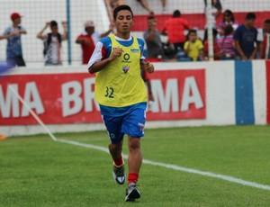 Tiago Cametá é apresentado no Fortaleza e inicia atividades no Pici (Foto: Site oficial do Fortaleza)