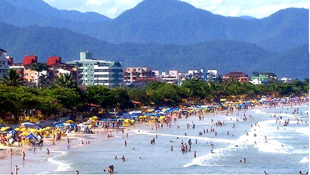 Ubatuba é uma das principais cidades do litoral norte paulista (Foto: Reprodução EPTV)