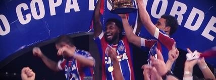 Clipe homenageia o Bahia, campeão da Copa do Nordeste (Felipe Zito)