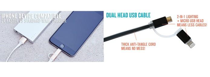 Asap Dash pode ser usando no iPhone ou em smartphones Android com micro USB (Foto: Divulgação/Indiegogo)