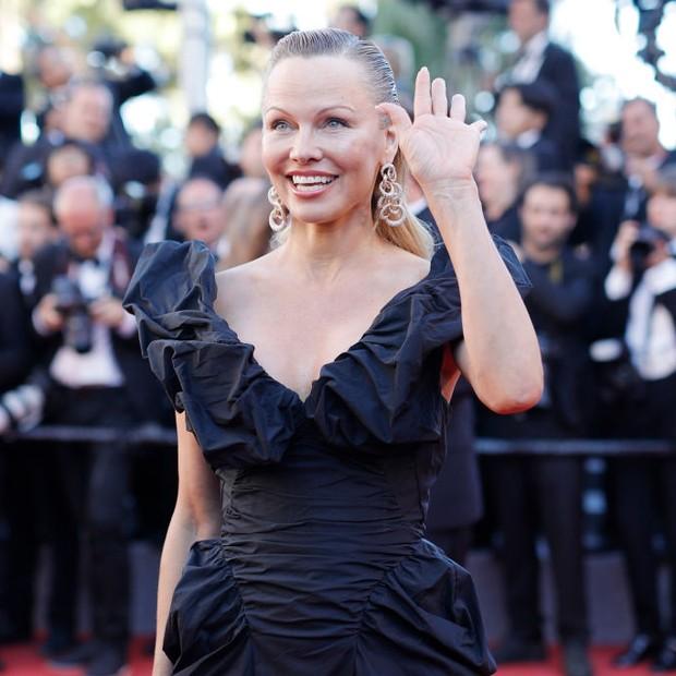 Pamela Anderson em Cannes (Foto: Reprodução/Instagram)
