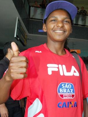Pretinha, corredora (Foto: Leonardo Silva / Jornal da Paraíba)
