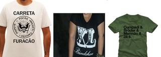 T-shirts com frases (Foto: Divulgação)