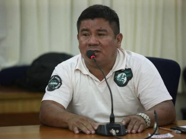 Cacique Valdeci Tembé relatou à Segup que precisou se afastar da área de conflito para resguardar sua própria segurança. (Foto: Carlos Sodré/Agência Pará)