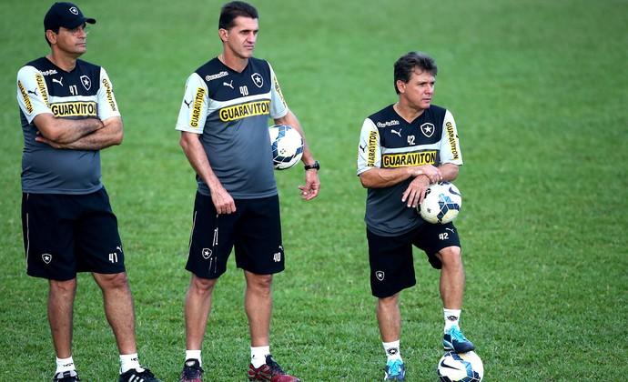 Mancini treino Botafogo (Foto: Satiro Sodré / Sspress)