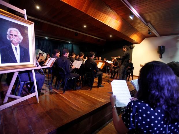 Homenagem Carlos Gomes Belém (Foto: Divulgação)