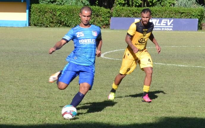 Rio Branco-ES venceu o Espírito Santo em jogo-treino nesta quinta-feira (Foto: Sidney Magno Novo/GloboEsporte.com)