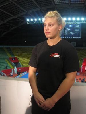 Kayla Harisson rival de Mayra Aguiar judô (Foto: Raphael Andriolo/Globoesporte.com)