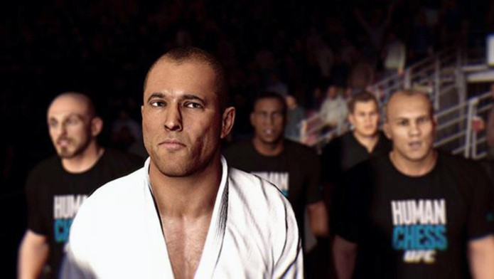 Outro modo de desbloquear o lutador é zerando o jogo no modo PRO (Foto: Divulgação/ EA)
