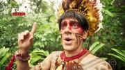 Confira os vídeos do Índio Obirajara de 'Tá no Ar'