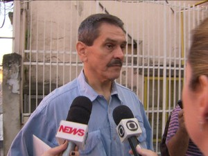 Ex-deputado Roberto Jefferson, delator do esquema do mensalão, no Inca/GNews (Foto: Reprodução Globo News)