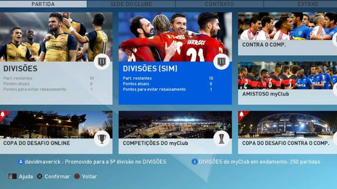 FIFA 17 e PES 2017: o Ultimate Team e MyClub possuem recursos similares (Foto: Reprodução/Thomas Schulze)