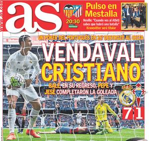 Cristiano Ronaldo capa AS (Foto: Reprodução)
