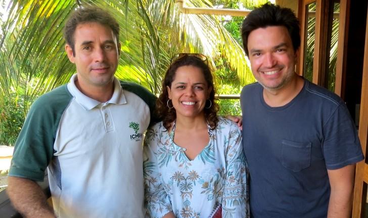 Eduardo Macedo , Andreia Alves e Manu Valle