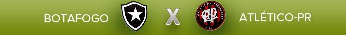 resumo 33 rodada BOTAFOGO X ATLÉTICO-PR