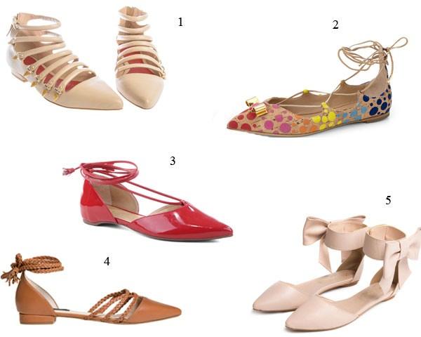 As sapatilhas com tiras têm estilo e são confortáveis (Foto: Divulgação)