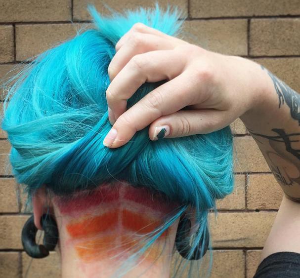 Undercut tattoo vira febre na internet (Foto: Reprodução Instagram)