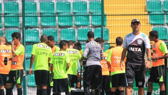 figueirense treino juvenil sub-17 (Foto: Luiz Henrique / FFC)