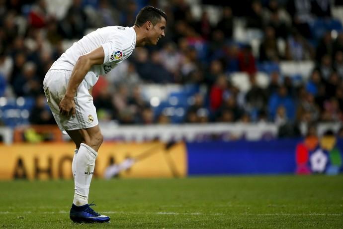 Cristiano Ronaldo Real Madrid lesão (Foto: Reuters)