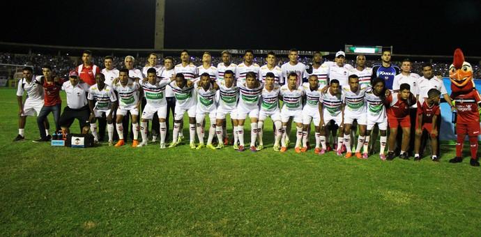 River-PI x Botafogo-SP (Foto: Abdias Bideh/GloboEsporte.com)