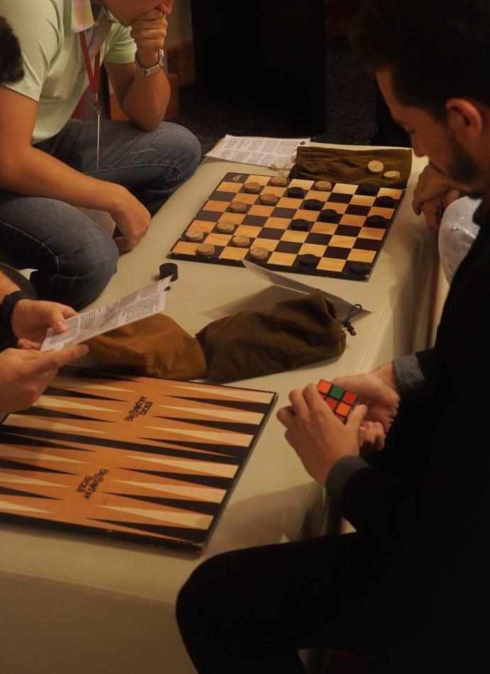 A concentração também faz parte do processo seletivo (Foto: Gshow)